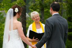 Reverend Robin Renteria, Wedding Officiant, The Fearrington Inn, Chapel Hill, NC